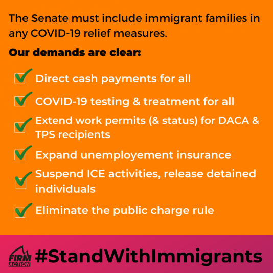 #StandWithImmigrants